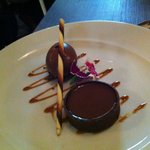 Dessert chocolat Valrhona