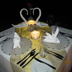 Romantic Dinner on the Pier