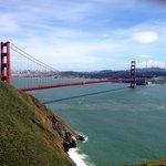 Inspirational moment watching the Golden Gate bridge