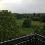 Vista do Jardim do Domínio de Maria Antonieta