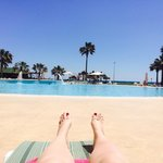 The best view from your sun bed!