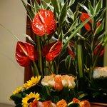 Hermosos arreglos florales