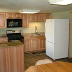 Family Cabin Kitchen