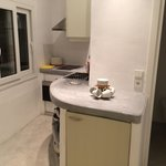 Kitchen of our Honeymoon Suite