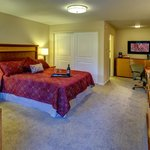 Newly renovated single queen room