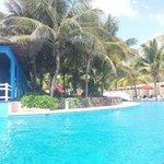 pool (next to caribbean restaurant)