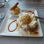 Dessert im Restaurant