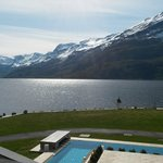 Hotel Ullensvang, view from room.
