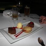 Beach Dinner dessert selection