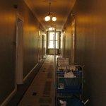hallway door to my room on left