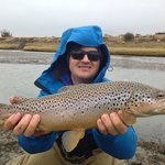 Monster brown trout in spots you can only fish through Remota