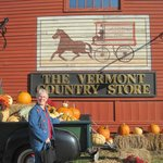 Photo op spot, Vermont Country Store, Oct 2013