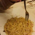 Tagliolini gamberi e tartufo