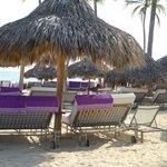 Cabanas at the Beach