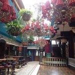 una delle stanze del bar