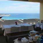 La terrazza a colazione