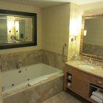 Bathroom in standard suite