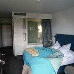 Room and a batrhoom window