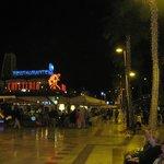 вечером на улице Тенерифе