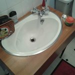 Marked sink