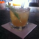amazing cocktail with romarin