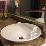 The world's largest bathroom faucet!