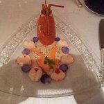 Le homard, sans chichi et très goûteux
