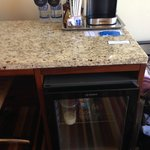 The crappiest coffee maker known to man!  Hilton Garden Inn's use a Keurig.  Time to step it up.