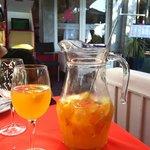 Bebida típica de Punta del Este - Clericot