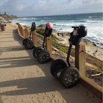 our segways while we went down to take pictures