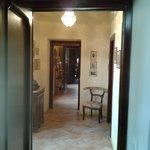 Corridoio tra le due camere