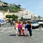 One of the beautiful spots we visited on the Amalfi coast.