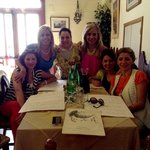 This was a great Taverna that Gaetano took us to and the owner insisted on ordering for us. Amaz