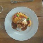 Pastilla de pintade avec sa patate douce