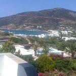 άποψη του ξενοδοχείου τη μέρα