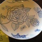 Love the plates in Wata Tapa...