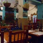 La Chalana restaurant interior