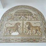 バルドー博物館 ライオンのモザイク