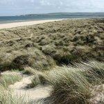 Studland dunes and beach