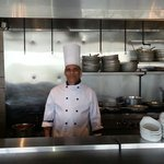 The chef at Campbell River's Spice Hut Restaurant. .