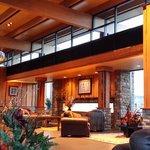 Hotel Check-in Lobby