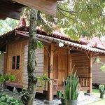 Salah satu kamar di Omah Garengpoeng