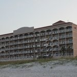 Motel from the beach