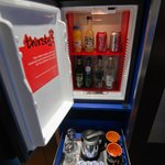 Free non-alcoholic drinks