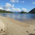 Beach at Plataran Resort