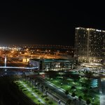 Night view from the Omni towards the south