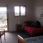 1 of the two guest bedrooms