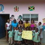 Operation: HelpJamaica donating suppliesat Kendal Basic School www.gofundme.com/operationhelpjam