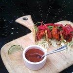 Amazing fish tacos