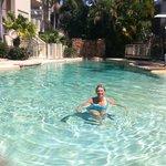 Enoy the pool!